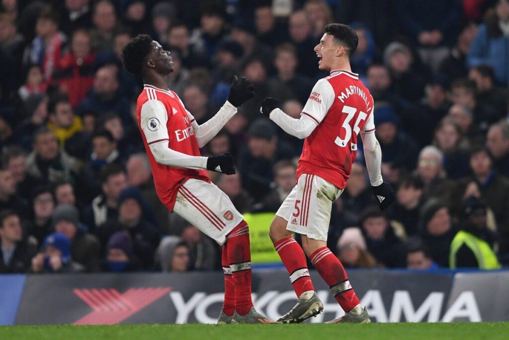 saka-martinelli Arsenal